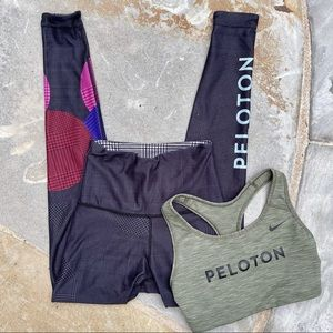 WITH x Peloton| hounds tooth reversible leggings